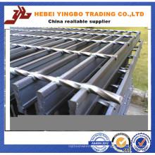 Fábrica de suministro de alta calidad anti deslizamiento acero rejilla
