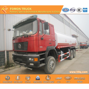 Shacman 10 wheels Milk Tanker Vehicle