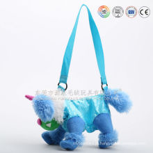 Crianças engraçadas brinquedo de saco de escola de pelúcia favorito & mochila para a escola
