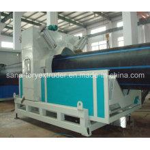 Machine en plastique de haute qualité pour la chaîne de production de tuyau de HDPE