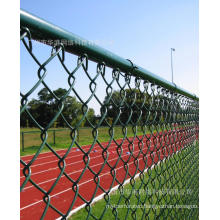 Galvanized/ PVC Coated Chain Link Fence (diamond wire mesh)