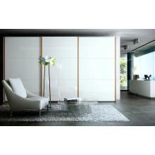 Gabinetes modernos del dormitorio del PVC del alto brillo