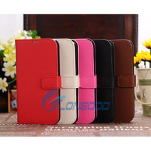 5 Colors Magnetic Flip Leather Credit Card Slots Holder Wallet Stand Case Cover for Samsung Galaxy S4 I9500