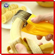 Uso de aço inoxidável de alta qualidade da lâmina do cortador 5 da banana para a cozinha home