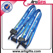 Plastic retractable yoyo holder lanyards for promotional gift
