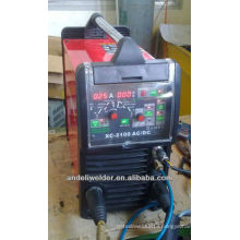 China famous brand professional aluminium super 200p ac dc pulse tig welder