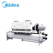 Midea enfriador de aire 376kw-1419kw cool air cooled industrial screw water chiller machine for air conditioning system
