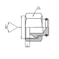 Hydraulic Hose Plug Adapter Fittings