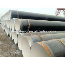 Цементированные футерованные сваренные стальные трубы
