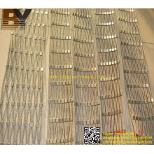 Stainless Steel Zoological Enclosure Mesh Netting