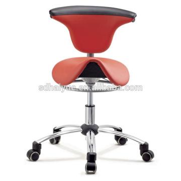 Silla dental tipo taburete dental taburete silla de montar de diseño nuevo, silla médica