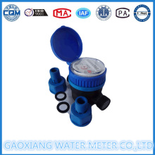 Single Jet Water Meter with Nylon Material Dn15mm (1/2′′)