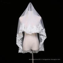 Dentelle de tulle 1.5 mètres voile de mariée mariage