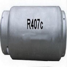 OEM available refrigerant gas hfc-R407C Unrefillable Cylinder 800g Port for Indonesia market