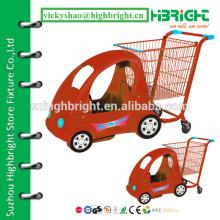 Carrinho de compras para crianças, carrinho de supermercado de plástico para crianças, carrinho para crianças de brinquedo