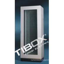 Metal Cabinet with Glazed Door