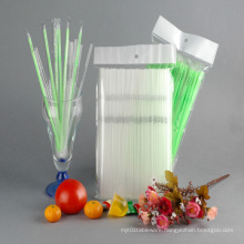 Customized Logo Printed Straws, Printed Flexible Straws (70718)