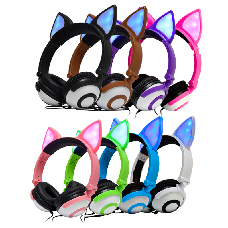 Color For Fox Ear Headphone