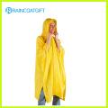 Poncho De Chuva De PVC Amarelo Deluxe