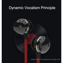 Kabelgebundene Ohrhörer mit Mikrofon