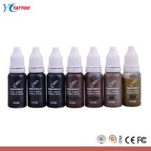 Pigmento permanente del maquillaje de la ceja color más natural