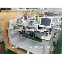 2 head computerized embroidery machine 9-12-15 colors price,BEST embroidery machine price