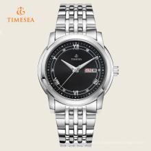 Relógio automático de aço inoxidável superior 72205 da qualidade de marca
