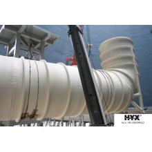 Tuyau / cheminée de FRP pour l'absorption active de gaz