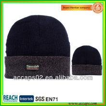 Bonnet noir personnalisé de qualité supérieure avec votre logo BN-2041