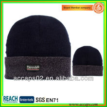 Tampão de chapéus pretos de qualidade superior personalizado com o seu logotipo BN-2041