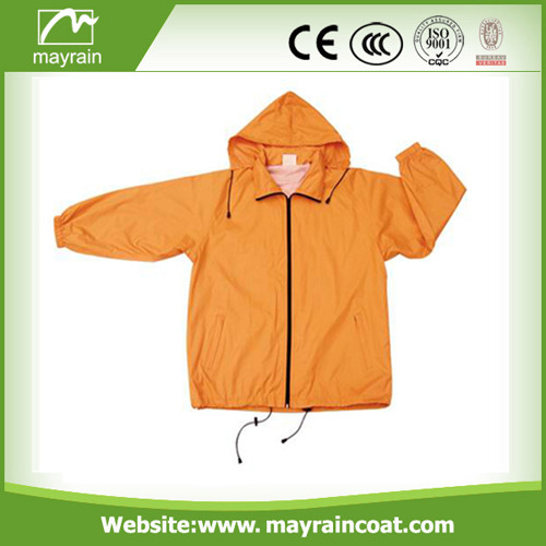 Polyester Rain Jacket for Promotion