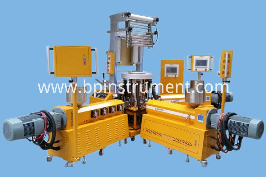 3 Layer Co Extruding Film Blowing Machine