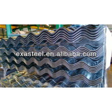 corrugated galvanized roofing