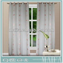 2015 new design 100% polyester austrian sheer curtains