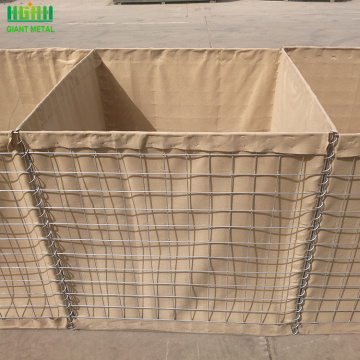 Factory price Hot dipped galvanized steel hesco barriers