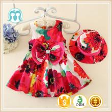 Chegada nova fábrica distribuir roupas infantis mais recente moda meninas vestido novo modelo de roupas de férias