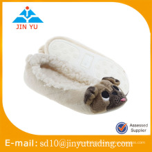 Chine usine de gros prix élégant hiver chaude en laine chaussures d'intérieur zapato sandalia intérieur hiver