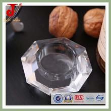 15см октября свет чая стеклянный подсвечник (СД-ч-020)