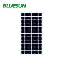 Bluesun neue transparente Solarmodule mit 340 Watt Leistung und mono transparentem Glas