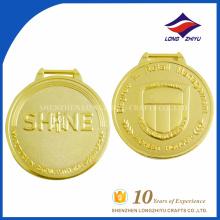 Prix de gros médaille d'or professionnel du bataillon souvenir personnalisé
