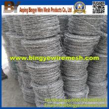 Fabricación profesional Acero alambre de púas de Anping