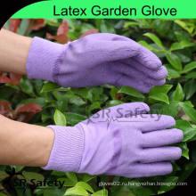 SRSAFETY 100% Хлопок с блокировкой лайнера с открытыми спинками латексные аккуратные садовые перчатки