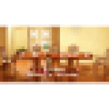 Table à manger en bois avec 8 pièces à manger chaise (868)