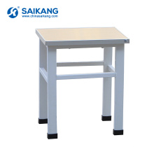 SKE019 медицинская мебель металл Малая квадратная табуретка
