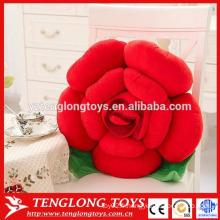 Belles oreiller en forme de rose rouge en peluche femme à vendre