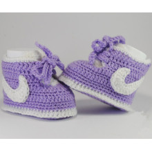 Crochet newborn shoes booties Cotton soft creative