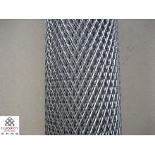Exportación de metal expandido pesado, hojas extendidas paso de la banda de rodamiento, red de pies