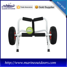 Aluminum kayak carrier, foldable trolley, Anodized boat trailer