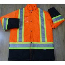 100% Оксфорд Водоустойчивое, ПП 180gsm лайкра, En20471 Calss2 лента сигнальная куртка