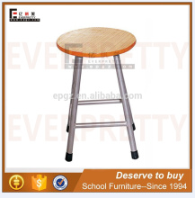 Cheap Hot Sale Wooden Round Lab Stool Chair Of School Laboratory Stools